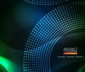Shiny circle background design vector 05