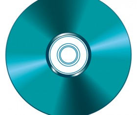 DVD Disc design template vector graphic 02