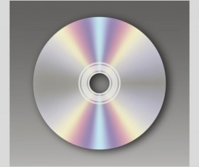 DVD Disc design template vector graphic 03