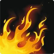 Link toDifferent fire vector illustration set 01