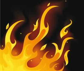 Different Fire vector illustration set 01