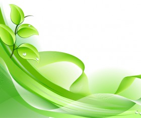 Elements of Fresh Green vector backgrounds 03