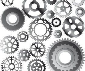 Different Gears mix vector set 04