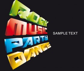 Bright Music Theme elements background vector 01