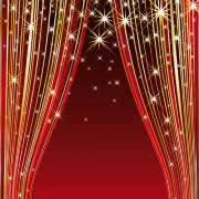 Link toRed stage curtain design vector graphic 01