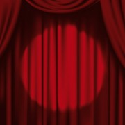 Link toRed stage curtain design vector graphic 05