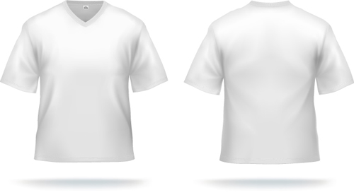 White t shirts template vector set 01 free download white t shirts template vector set 01 maxwellsz