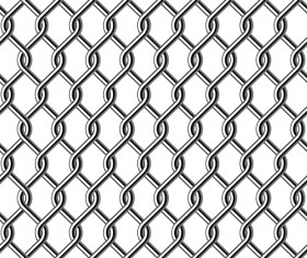 Fence made of Metal wire vector background graphic 01