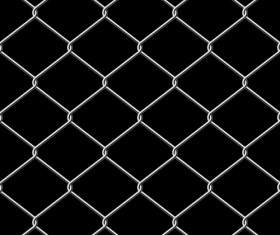 Fence made of Metal wire vector background graphic 03