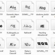 Link toDelicate funny font set 02