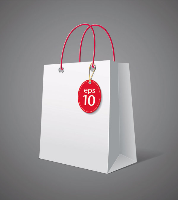 Color Paper Shopping bags design vector 04 - Vector Life ...