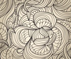 Set of Snake texture pattern vector 04