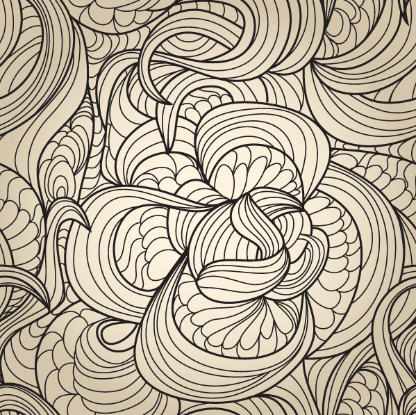 Set of Snake texture pattern vector 04 - Vector Pattern free download