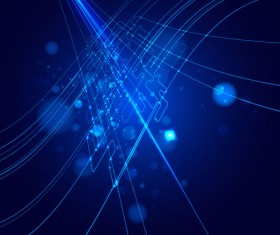 Abstract dynamic Light lines vector backgrounds vector 05