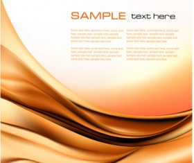 Ornate Silk wave vector backgrounds set 01
