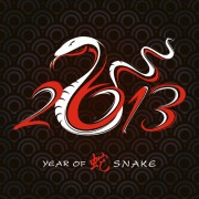 Link toSet of 2013 year of snake design vector 01