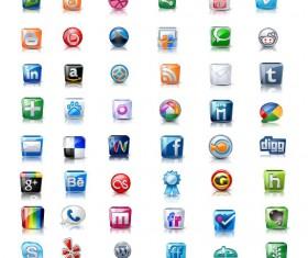 Vivid Bright web icon set