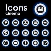 Link toBright round icons design vector set 01