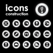 Link toBright round icons design vector set 03