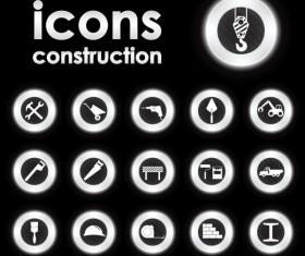 Bright Round icons design vector set 03