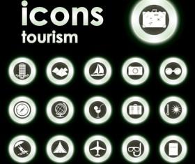 Bright Round icons design vector set 04