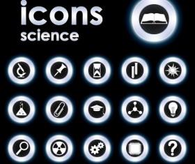 Bright Round icons design vector set 05