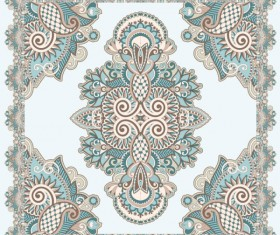 Retro Decorative pattern Frames and Borders vector 01