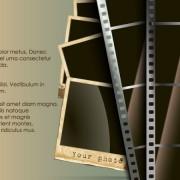 Link toVintage film scrap banckground vector 04