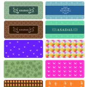 Link toDifferent decorative pattern mix vector