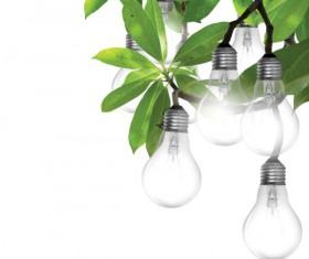 Set of light bulb design elements vector 04