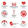 Different style of logos design elements vector 04