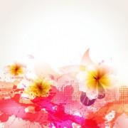Link toSplash color flower backgrounds vector 05