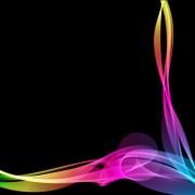 Link toDynamic light lines vector background set 01