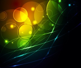 Abstract Backgrounds with light vector dot 02
