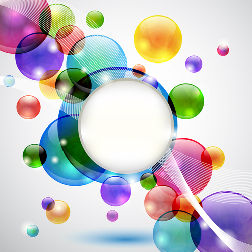 Glowing Abstract Backgrounds design vector 01 - Vector Abstract ...