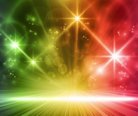 Glowing Abstract Backgrounds design vector 03