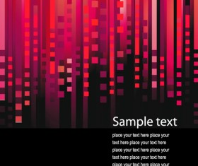 Bright Backgrounds with Abstract art vector 03