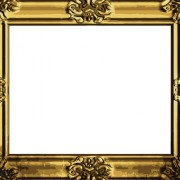 Link toSet of antique gold photo frame elements vector 04