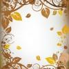 Autumn elements of Frames vector 05