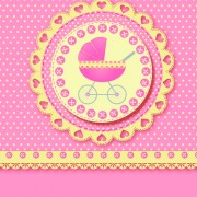 Link toCute baby cards design vector set 02