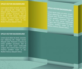 Elements of Business flyers and brochures cover vector 05