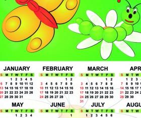 Set of Calendar 2013 design elements vector 03