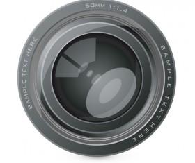 Different Camera lens mix vector set 05