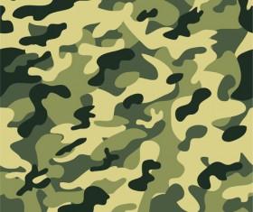Different Camouflage pattern design vector set 01