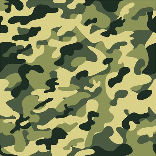 Different Camouflage Pattern Design Vector Set 01 Free