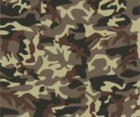 Different Camouflage pattern design vector set 03