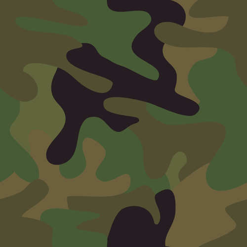 Different Camouflage pattern design vector set 04
