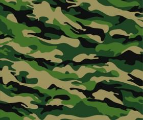 Different Camouflage pattern design vector set 05