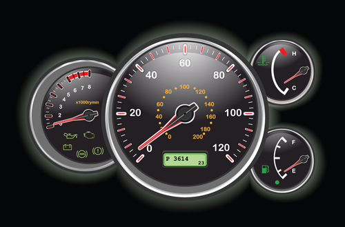 Different Car Dashboard Design Vector 02 Vector Car Free