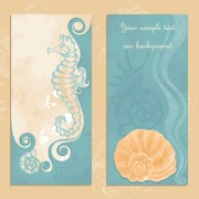 Link toHand drawn flower of stylish card vector 02